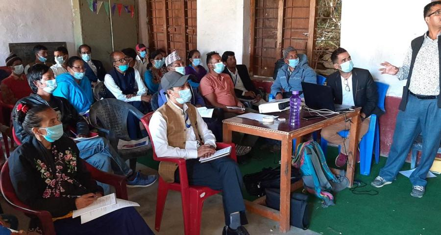 glimpses of Two Days Orientation Conducted in Vyans Rural Municipality, Darchula